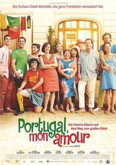 Filmplakat PORTUGAL MON AMOUR - Die Familie Ribeiro auf dem Weg zum großen Glück