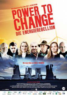 Filmplakat POWER TO CHANGE - Die Energierebellion