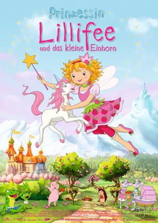 Filmplakat Prinzessin Lillifee und das kleine Einhorn