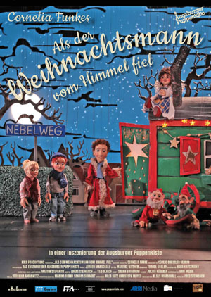 Filmplakat Augsburger Puppenkiste: Als der Weihnachtsmann vom Himmel fiel