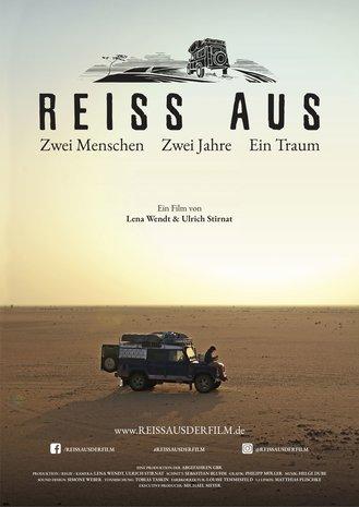 Filmplakat REISS AUS. Zwei Menschen. Zwei Jahre. Ein Traum