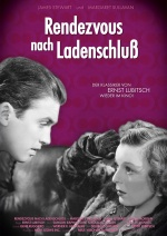 Filmplakat Rendezvous nach Ladenschluss - THE SHOP AROUND THE CORNER - engl. OmU