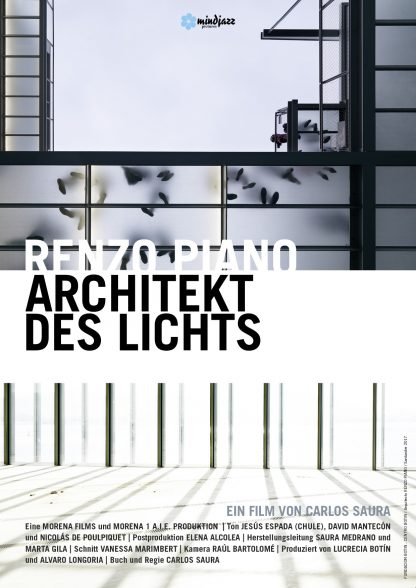 Filmplakat Renzo Piano - Architekt des Lichts