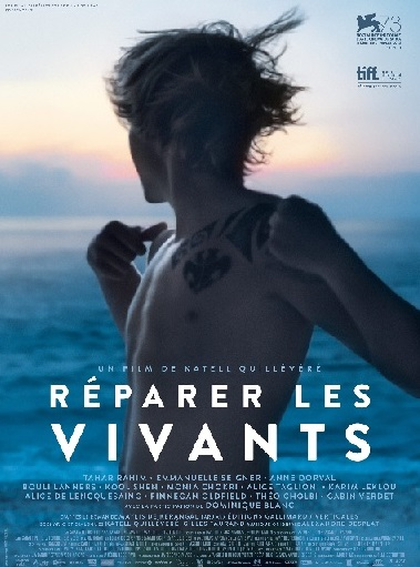 Filmplakat Die Lebenden reparieren - RÉPARER LES VIVANTS - franz. OmU