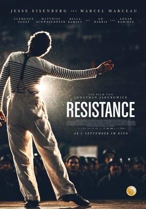 Filmplakat RESISTANCE - Widerstand
