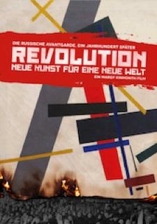 Filmplakat REVOLUTION - Neue Kunst für eine neue Welt - OmU