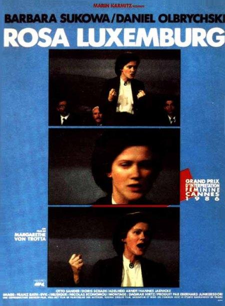Filmplakat ROSA LUXEMBURG