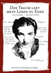 Filmplakat ROSE AUSLÄNDER - Der Traum lebt mein Leben zu Ende
