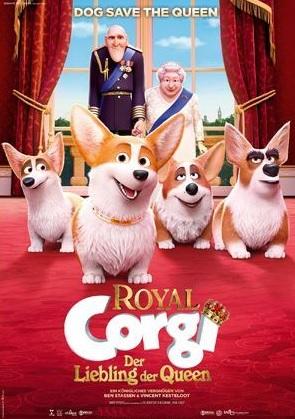 Filmplakat ROYAL CORGI - Der Liebling der Queen