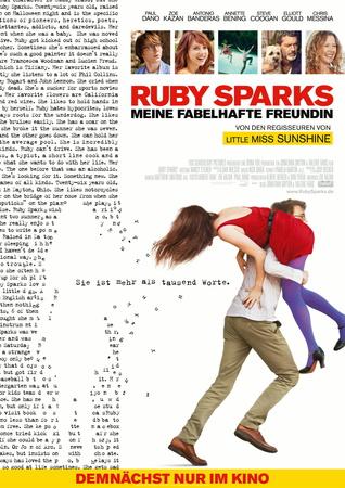 Filmplakat RUBY SPARKS - Meine fabelhafte Freundin