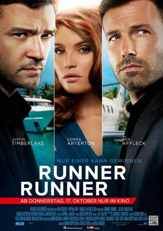 Filmplakat RUNNER RUNNER - engl. OmU