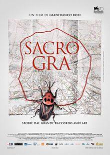Filmplakat SACRO GRA - Das andere Rom - ital. OmU