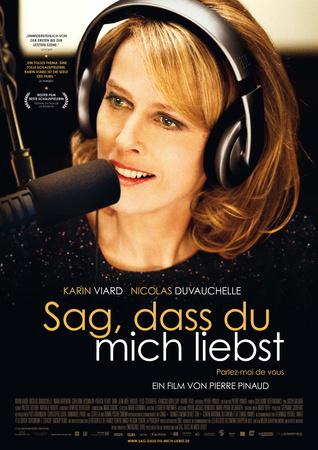Filmplakat Sag, dass du mich liebst - Parlez-moi de vous - franz. OmU