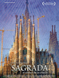 Filmplakat SAGRADA - Antoni Gaudí - Das Geheimnis der Schöpfung