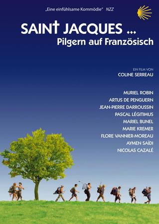 Filmplakat SAINT JACQUES - Pilgern auf französisch