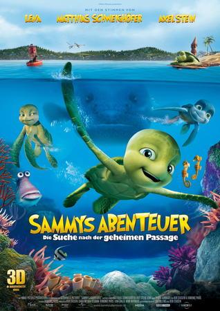 Filmplakat SAMMYS ABRENTEUER - Die Suche nach der geheimen Passage