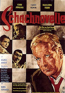 Filmplakat SCHACHNOVELLE (1960)