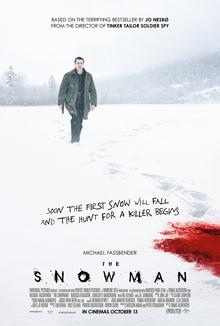 Filmplakat Schneemann - THE SNOWMAN - engl. OmU