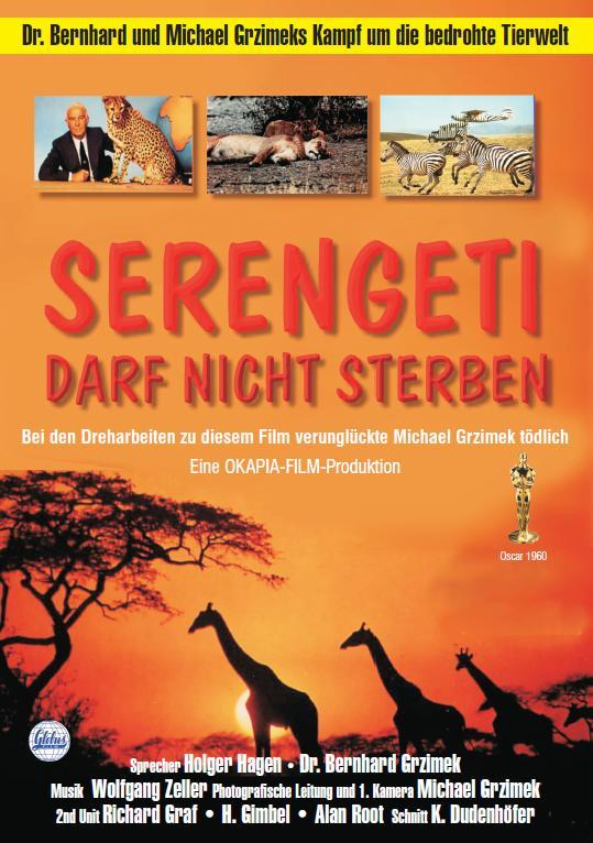 Filmplakat Serengeti darf nicht sterben