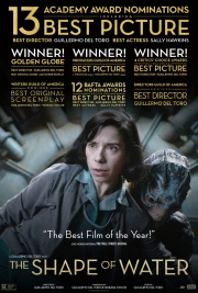 Filmplakat THE SHAPE OF WATER - engl. OmU