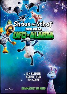 Filmplakat SHAUN DAS SCHAF - Der Film: UFO ALARM