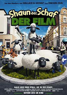 Filmplakat SHAUN - das Schaf - der Film