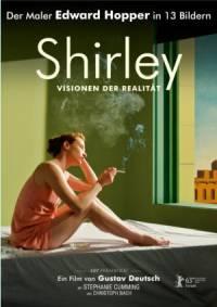 Filmplakat SHIRLEY-der Maler EDWARD HOPPER in 13 Bildern