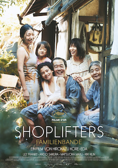 Filmplakat SHOPLIFTERS - Familienbande