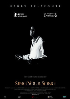 Filmplakat Harry Belafonte: SING YOUR SONG
