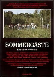 Filmplakat Sommergäste