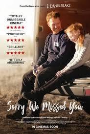 Filmplakat SORRY WE MISSED YOU - engl. OmU