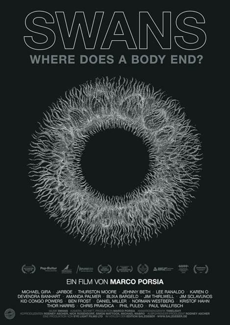Filmplakat SWANS - WHERE DOES A BODY END?