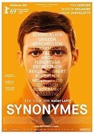 Filmplakat SYNONYMES