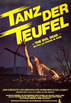 Filmplakat Tanz der Teufel - UNCUT - REMASTERD