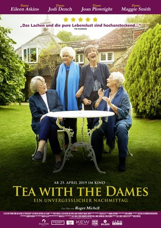 Filmplakat TEA WITH THE DAMES - Ein unvergesslicher Nachmittag
