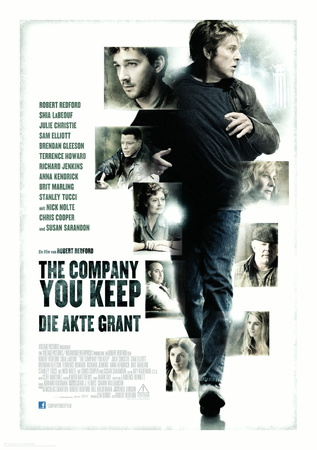 Filmplakat THE COMPANY YOU KEEP-Die Akte Grant