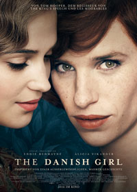 Filmplakat THE DANISH GIRL