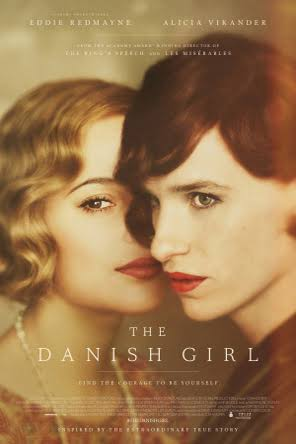 Filmplakat THE DANISH GIRL - engl. OmU