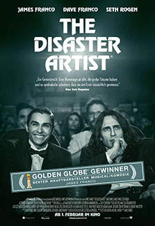 Filmplakat THE DISASTER ARTIST