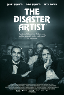 Filmplakat THE DISASTER ARTIST - engl. OmU