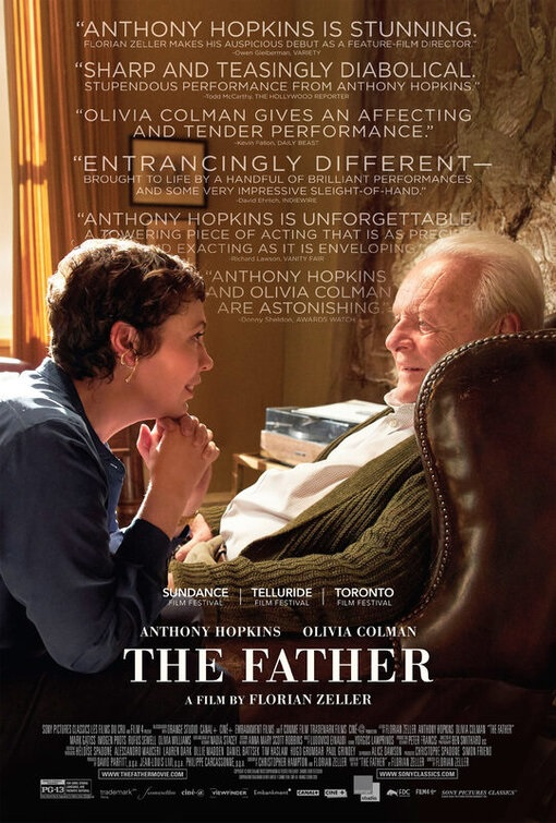 Filmplakat THE FATHER - engl. OmU