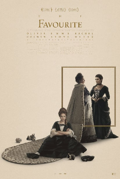 Filmplakat THE FAVOURITE - engl. OmU