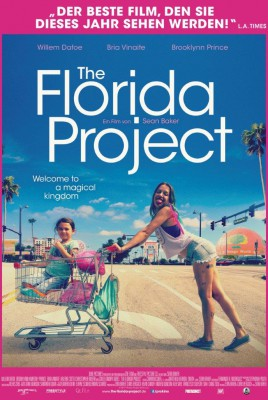 Filmplakat THE FLORIDA PROJECT