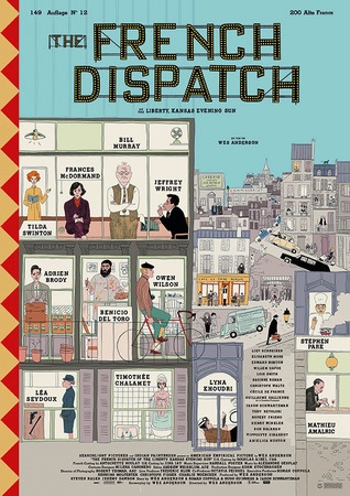 Filmplakat THE FRENCH DISPATCH