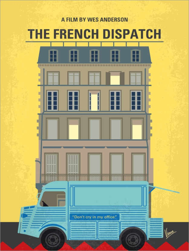 Filmplakat THE FRENCH DISPATCH - engl. OmU