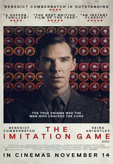 Filmplakat THE IMITATION GAME - engl. OmU