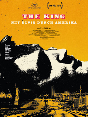 Filmplakat THE KING - Mit Elvis durch Amerika