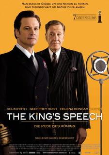 Filmplakat THE KING'S SPEECH