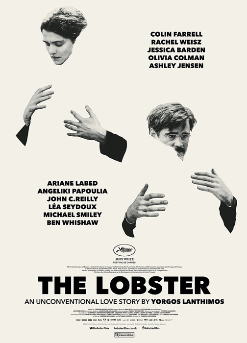 Filmplakat THE LOBSTER - engl. OmU