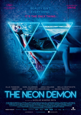 Filmplakat THE NEON DEMON - engl. OmU